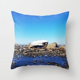 Stranded Iceberg Throw Pillow