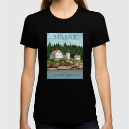 Bass Harbor Lighthouse Maine T-shirt