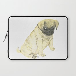 Bruni - the pug puppy Laptop Sleeve