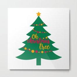 Christmas Tree Gift idea for christmas 2020 Metal Print