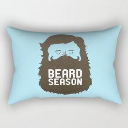 Beard Season Rectangular Pillow