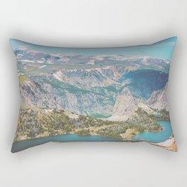 The Twin Lakes Rectangular Pillow