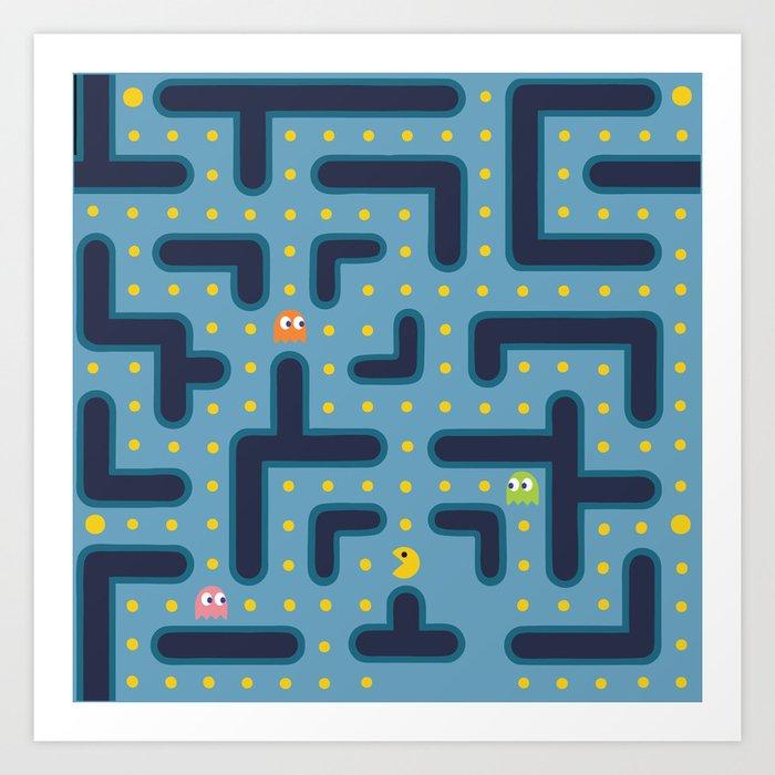 RETRO GAME Art Print