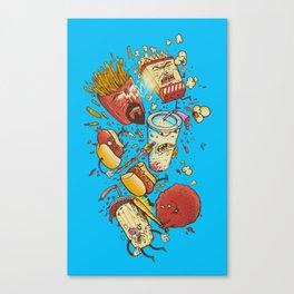 No more F@#$% intermissions Canvas Print