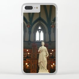 Ottawa Library Clear iPhone Case