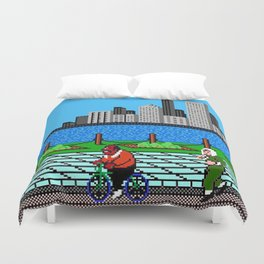 Ask Gary Vee Show - NES Punch Out Training Duvet Cover