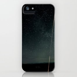 1087. NASA Launches Rocket Into Active Auroras iPhone Case