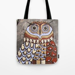 Night Vision Owl  Tote Bag