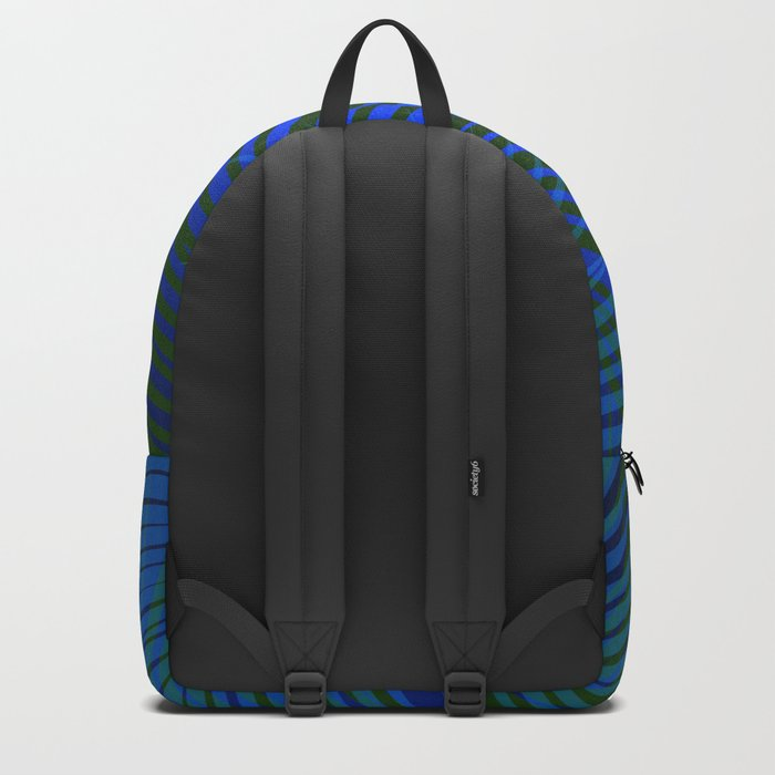 Tropical Palm in Dark Backpack