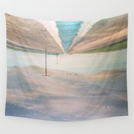 MM 205 . Sand Dunes x Country Road Wall Tapestry