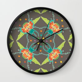 Fiesta Beetle Wall Clock