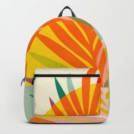 minimal leave tropical spring Backpack