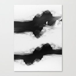 Hello from the The White World Canvas Print