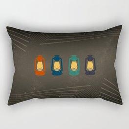 Porch Lanterns Rectangular Pillow