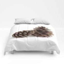 Two pinecones Comforters