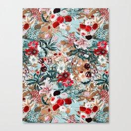 Summer Botanical Garden XIII Canvas Print