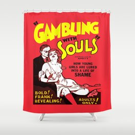 Gambling Shower Curtain