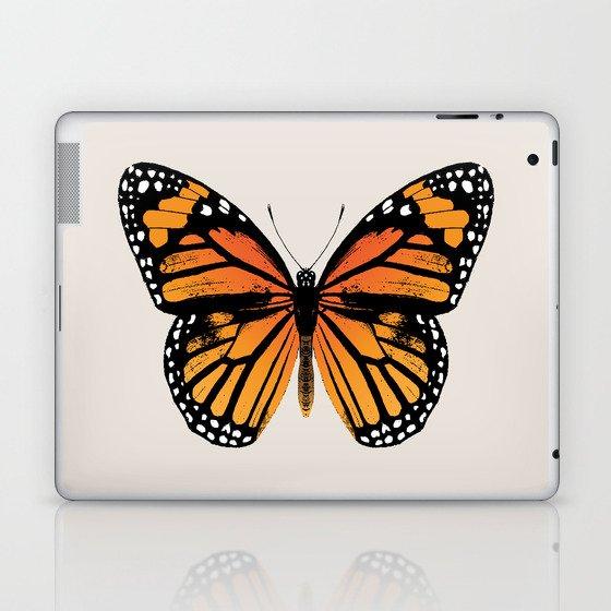 Monarch Butterfly | Vintage Butterfly | Laptop & iPad Skin