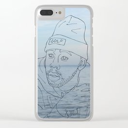 tyler & the sea Clear iPhone Case