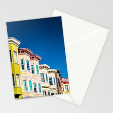 Colorful San Francisco 3 Stationery Cards