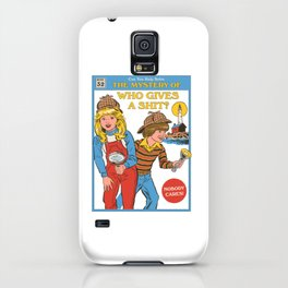 Who Gives a Sh*t? iPhone Case