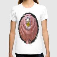 korean T-shirts featuring Korean Lamp by Benedict Middleton
