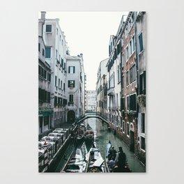 Venezia Canals Canvas Print