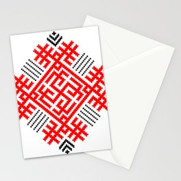 Rodimich - Antlers - Slavic Symbol #1 Stationery Cards