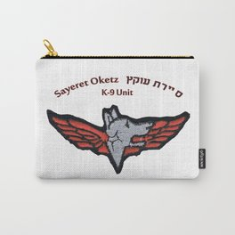 The Oketz Unit Logo Carry-All Pouch