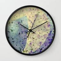 future Wall Clocks featuring Future  by JulKa