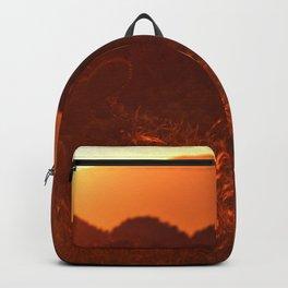 The Orange Plains (Color) Backpack