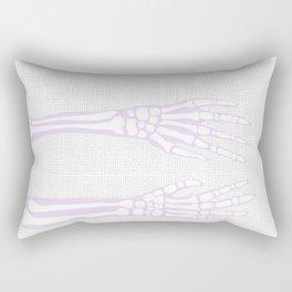 Boney Fingers Rectangular Pillow