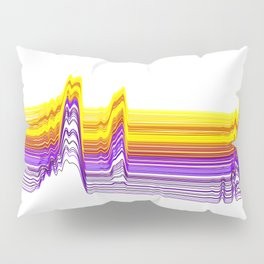 Fe Lines in Neon Colors Pillow Sham