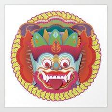 Bali Monster 1 Art Print
