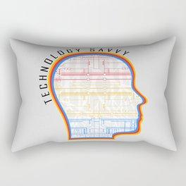 Technology Savvy Rectangular Pillow