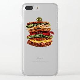 Sandwich Clear iPhone Case