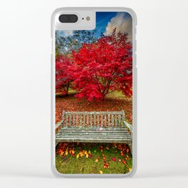 Autumn Splendour Clear iPhone Case