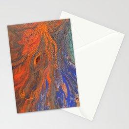 Fiery Sea Horse Stationery Cards