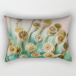 Poppy Pods Rectangular Pillow