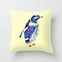 Penguin 2 (Arabic calligraphy) Throw Pillow