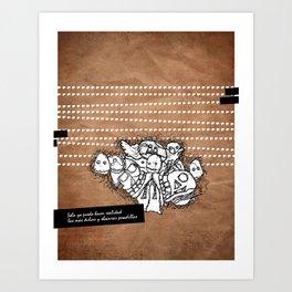 pesadillas Art Print