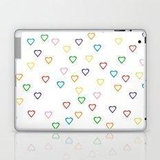 Candy Hearts Laptop & iPad Skin