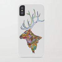 elk iPhone & iPod Cases featuring Elk  by kristinasheufelt