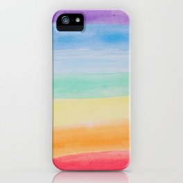 Chakra Watercolor iPhone Case