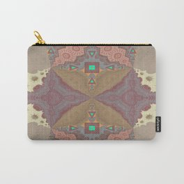 Pallid Minty Pattern 6 Carry-All Pouch