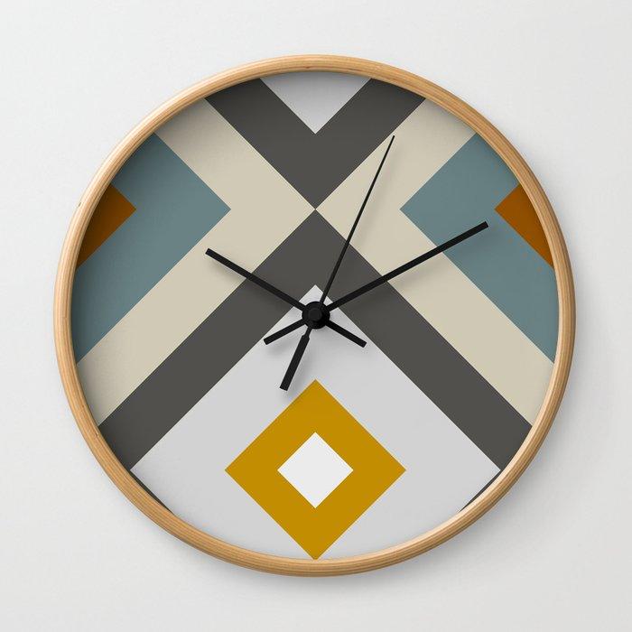 Mid West Geometric 04 Wall Clock