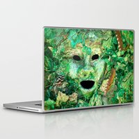 pagan Laptop & iPad Skins featuring MASKED by Catspaws