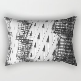 Chicago fire escapes Rectangular Pillow