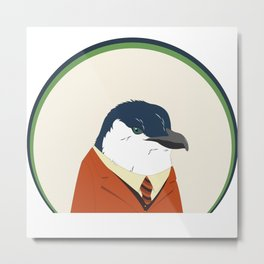 Little Blue Penguin Metal Print