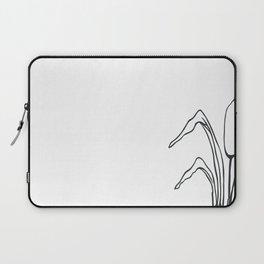Paper-cut Cattail Laptop Sleeve